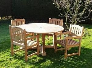 Eden Contract Furniture -  - Table De Jardin Ronde