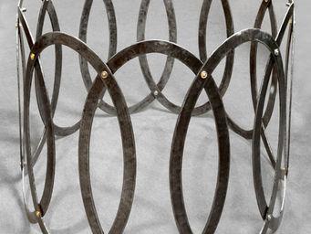 Jardinieres & Interieurs - pi�tement ellipses - Pied De Table