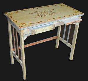 l'atelier du breuil - mosaique - peinture à l'huile - Table Bureau