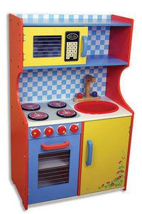 Andreu-Toys - cocina multicolor - Meuble De Poup�e