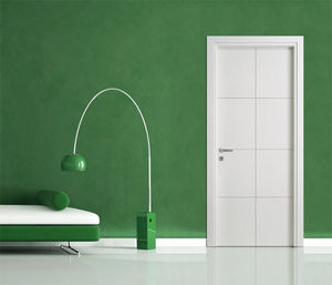 BERTOLOTTO PORTE - auckland - incisa bp 1029 laccato bianco - Porte De Communication Pleine