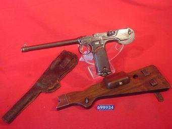 LE HUssARD - pistolet borchardt - Pistolet Et Révolver