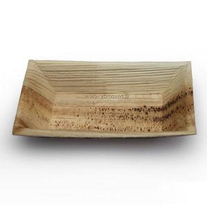 DINOVIA - assiette jetable palmier - Assiette De Présentation