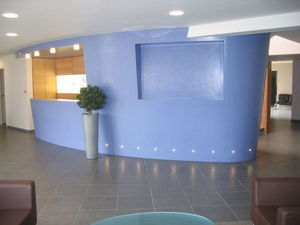 Eb�nisterie Hackspill -  - Banque D'accueil