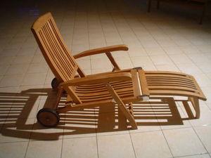 MEUBELINDO -  - Chaise Longue De Jardin
