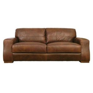 Abode Direct - sorrento leather 2.5 seater sofa - Canapé Club