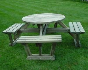 Devon Garden Furniture -  - Table Pique Nique