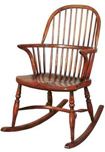 Batheaston - stickback rocking chair : bc7r - Rocking Chair