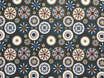 Equipo DRT - royal wengue - Tissu Imprimé