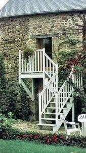 Go Bois Girard Ouvrages Bois -  - Escalier D'ext�rieur
