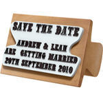 The English Stamp Company - save the date stamp - Tampon Encreur