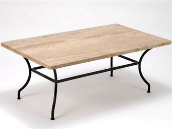 Marbrerie Rouillon - lub�ron - Table Basse De Jardin