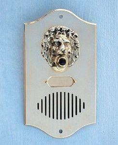 Replicata - klingelplatte leone mit sprechgitter - Bouton De Sonnette