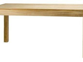 MEUBLES ZAGO - table teck 200cm absolue - Table Bureau
