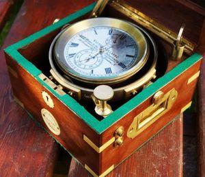 La Timonerie Antiquités marine -  - Chronomètre