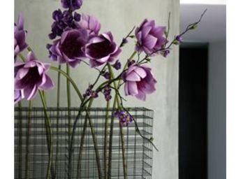 HERV� GAMBS - g�om�trique - Vase � Fleurs