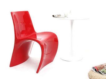 Miliboo - chaise design en fibre de verre owie - Chaise