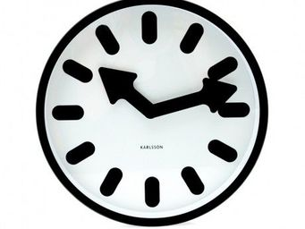 Karlsson Clocks - karlsson - horloge pictogram - karlsson - - Horloge Murale