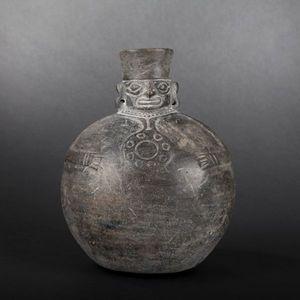 Expertissim - vase-figure en céramique. pérou, chimu - Objet D'art Précolombien