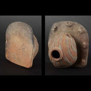 Expertissim - vase en forme de porc-épic. equateur, la tolita, m - Objet D'art Précolombien