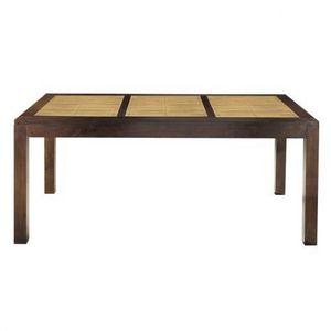 Maisons du monde - table à dîner bamboo - Table De Repas Rectangulaire