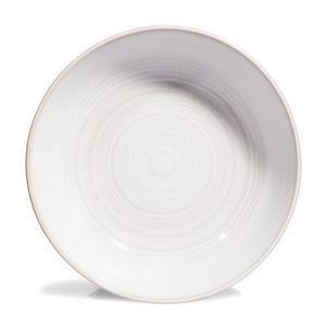 Maisons du monde - assiette soupe manosque blanche - Assiette Creuse