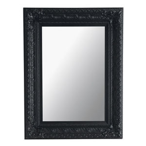 Maisons du monde - miroir marquise noir 95x125 - Miroir