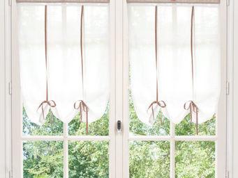 Maisons du monde - rideau court fait maison - Brise Bise