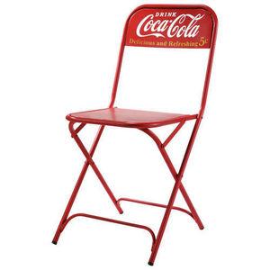 MAISONS DU MONDE - chaise coca-cola - Chaise