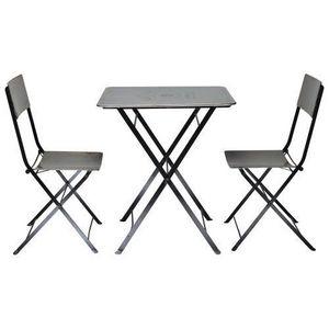 Maisons du monde - set table + 2 chaises haussmann - Chaise