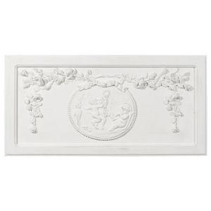 Maisons du monde - fronton angelo blanc - D�coration Murale
