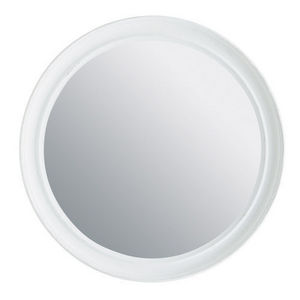 Maisons du monde - miroir elianne rond blanc - Miroir