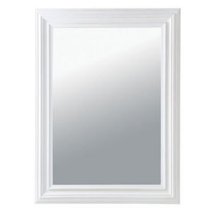 Maisons du monde - miroir napoli blanc 60x80 - Miroir