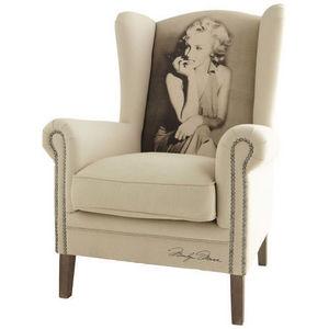 Maisons du monde - fauteuil marilyn celebrity - Fauteuil