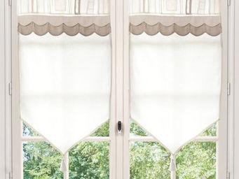 Maisons du monde - rideau court ang�lique - Brise Bise