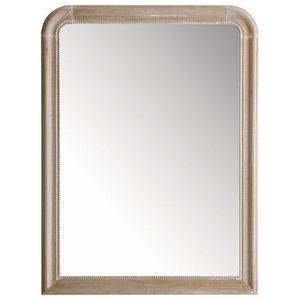 Maisons du monde - miroir louis naturel 90x120 - Miroir