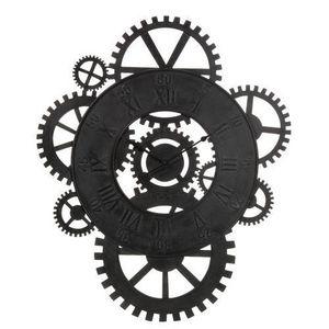 Maisons du monde - horloge rouages - Horloge Murale
