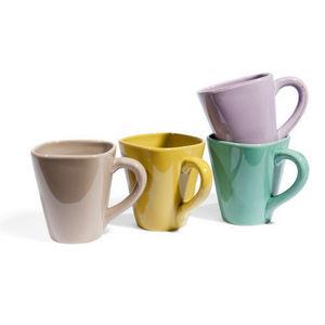 Maisons du monde - assortiment de 8 mugs garigue - Mug
