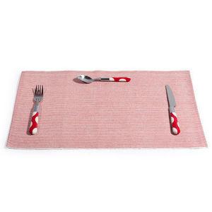 MAISONS DU MONDE - set de table joinville rouge - Set De Table