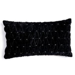 Maisons du monde - coussin demoiselle noir - Coussin Rectangulaire