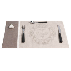 Maisons du monde - set de table camelia - Set De Table