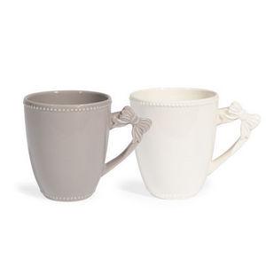 Maisons du monde - assortiment de 6 mugs pierrot - Mug