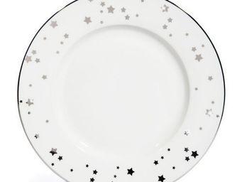 Maisons du monde - assiette plate etoilée - Assiette Plate