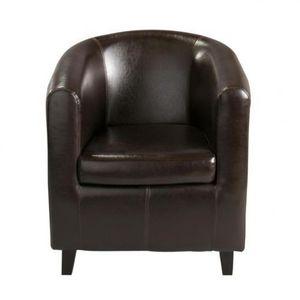 Maisons du monde - fauteuil marron nantucket - Fauteuil