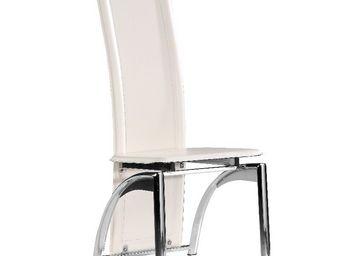 CLEAR SEAT - chaises modernes iris blanc lot de 6 - Table De Repas Ronde