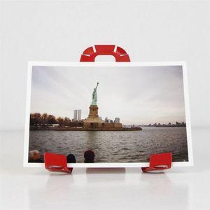 Fenel & Arno - porte photo a-3-pat rouge - Porte Photo