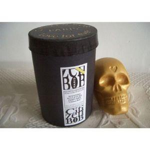 CITIZEN BIO - tête de mort citizen bob or - sculpture parfumée e - Savon
