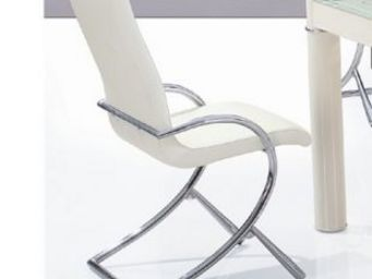 CLEAR SEAT - chaises boreal blanc lot de 6 - Chaise