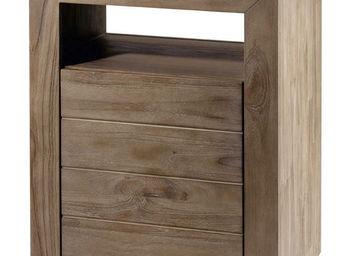 ZAGO - meuble sdb en teck teinte - Meuble De Salle De Bains