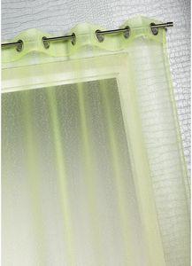 HOMEMAISON.COM - voilage organza à fines rayures horizontales - Voilage